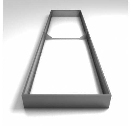 Металлические ограждения для грядок (толщина 0,45 мм)