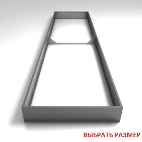 Грядки оцинкованные (высота бортика 24см, толщина металла 0,7мм)