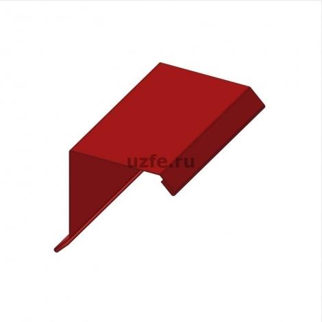 Ветровая планка (торцевая планка) 80 х 80 мм