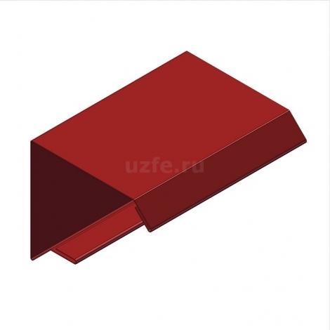 Соединение стеновой и кровельной панелей при консольном вылете кровельной панели