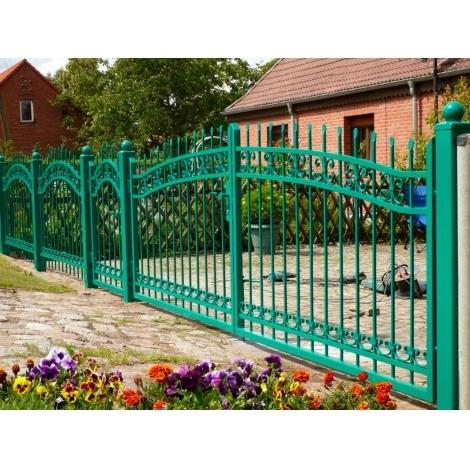 Покраска металлических ворот, дверей, заборов, ограждений
