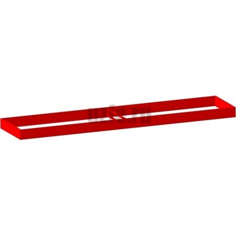 Грядки оцинкованные (высота бортика 24см, толщина металла 0,45мм)
