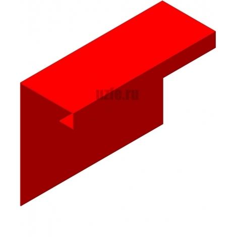 Наличник - откос (около оконная планка) накладной, объемный)