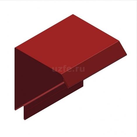 Соединение стеновой и кровельной панелей