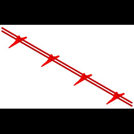 """Снегозадержатель трубчатый """"СТАНДАРТ"""" (высота волны до 21 мм включительно)"""