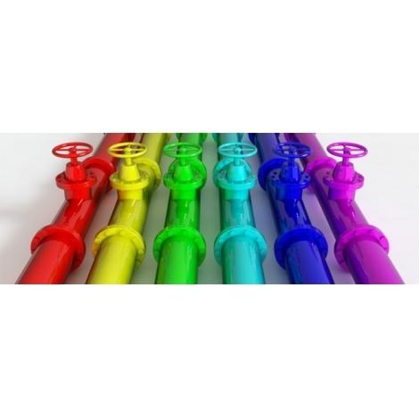 Покраска металлических труб