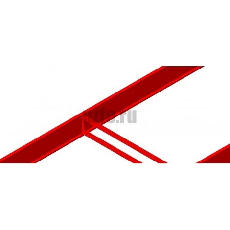 Грядки крашеные (высота бортика 24см, толщина металла 0,45мм)